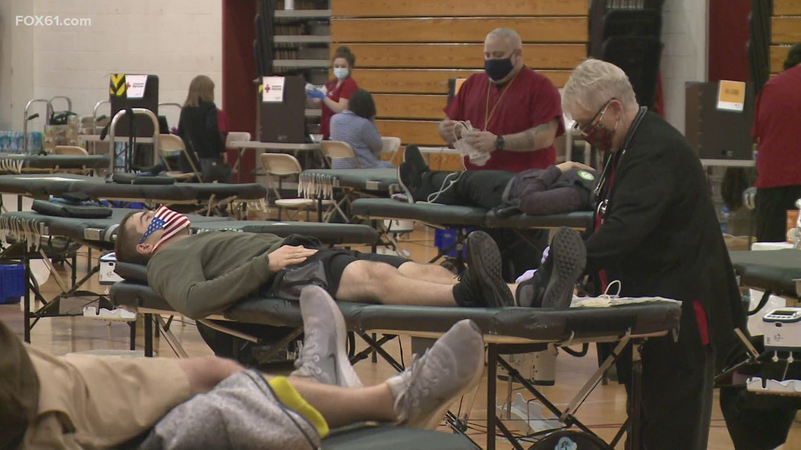 Manchester Road Race blood drive answers the call again amid COVID crisis