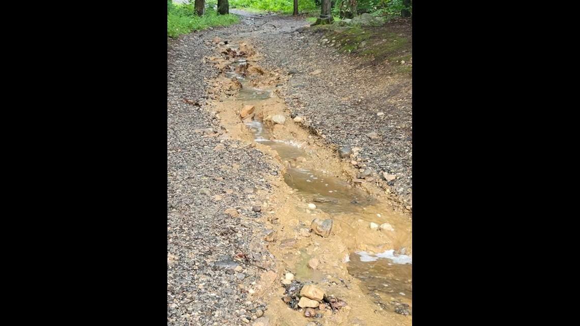 Damage to Ashford Camps