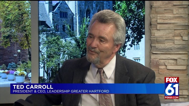 Real People with Stan Simpson: Ted Carroll, CEO of Leadership Greater Hartford