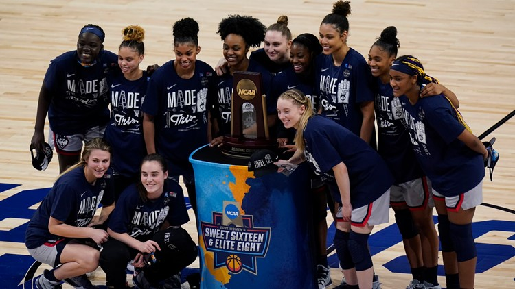 UConn women's basketball head to Final Four after beating Baylor in a thriller