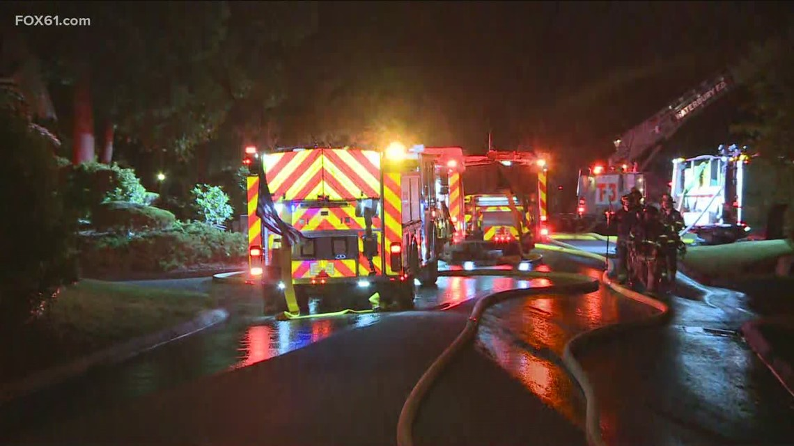 Firefighters responded to house fire in Waterbury