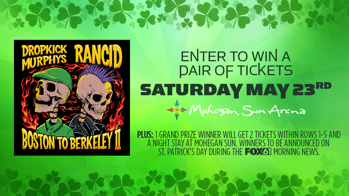 Enter for the chance to win tickets to Dropkick Murphys!