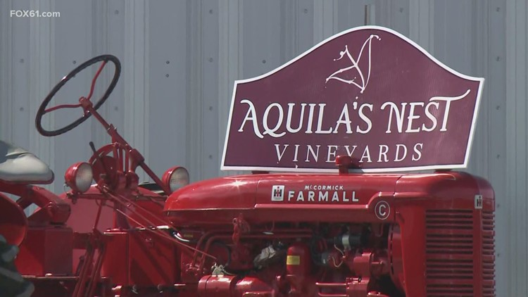 State leaders celebrate COVID-19 restriction ease at Aquila's Nest Vineyards Package