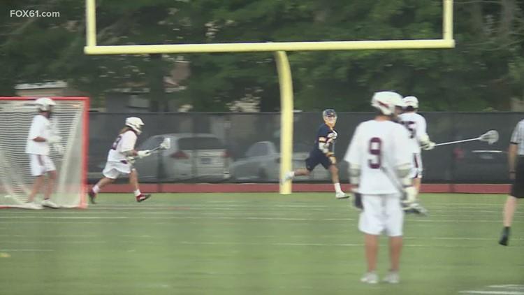 Weston boy's lacrosse advances to Class M Final
