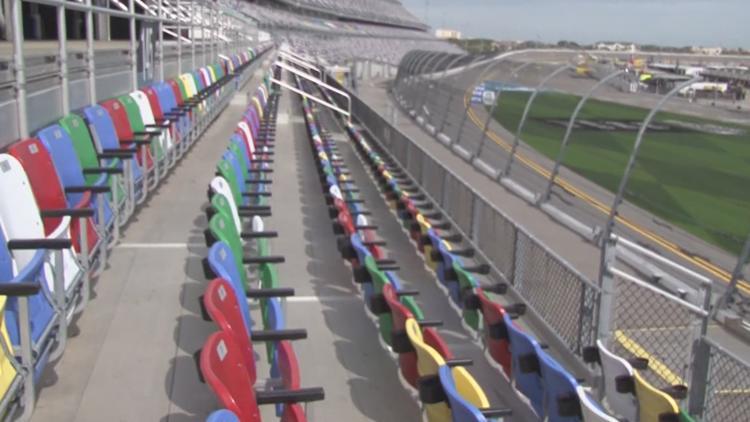 Daytona 500 resumes after 5-hour plus rain delay