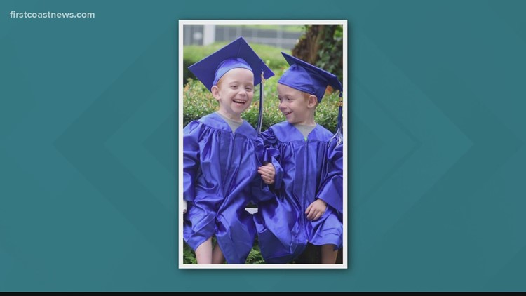 CONGRATS!: Formerly conjoined twins graduate pre-K