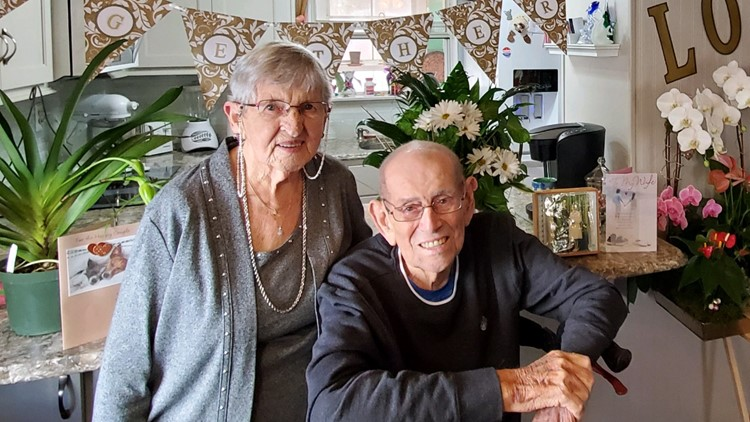 Couple celebrates 75th anniversary to start 2021