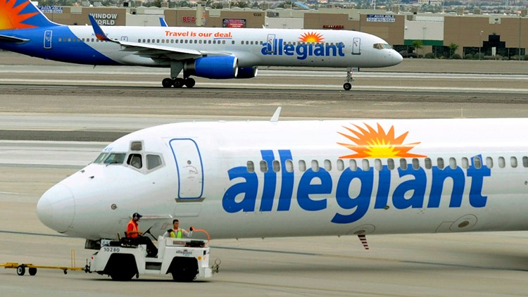 Allegiant announces nonstop flights from Des Moines to Houston, San Diego and Portland