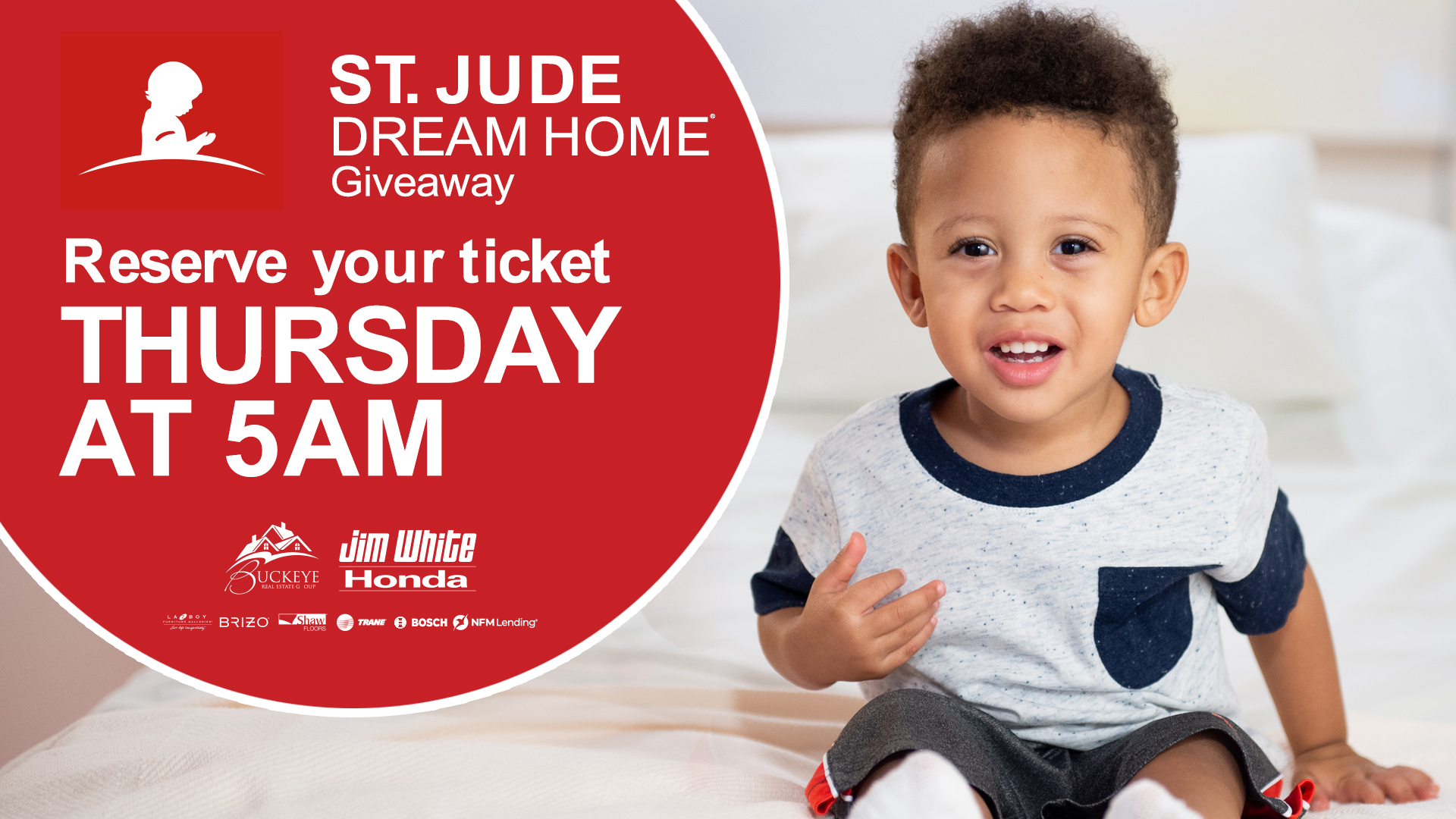 St. Jude Dream Home | Reserve your ticket for a chance to win starting May 13!