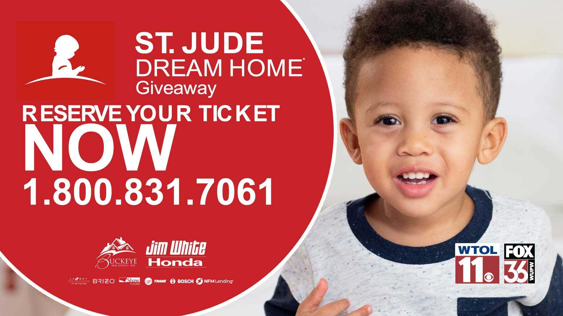 St. Jude Dream Home 2021 | GOING FAST! Reserve your ticket for a chance to win now