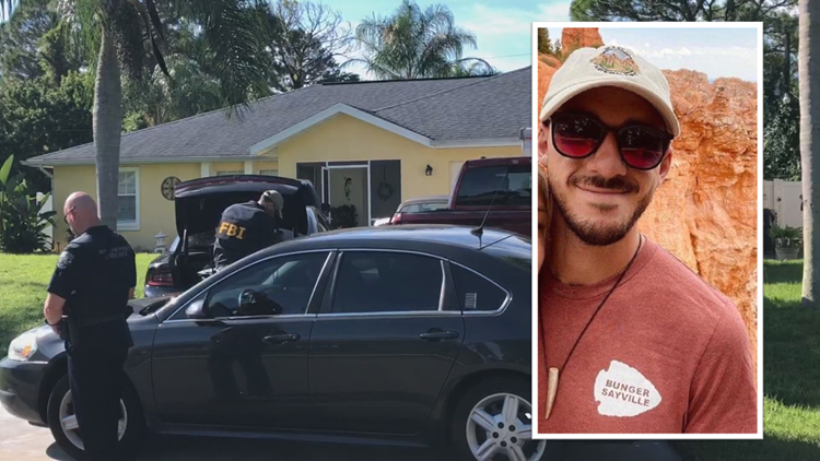 FBI executes search warrant at Brian Laundrie's home