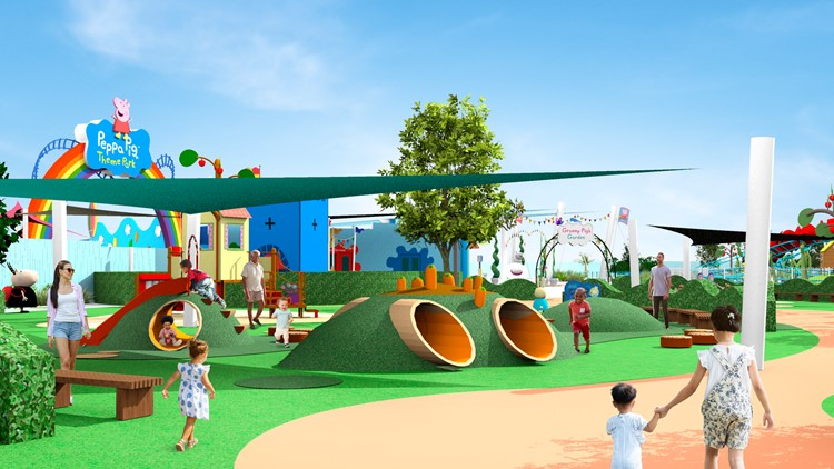 Opening, ticket prices announced for Peppa Pig theme park in Florida