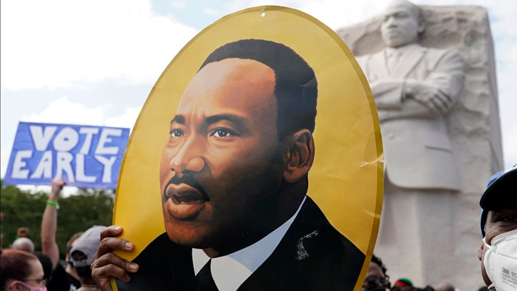 2020 March on Washington against police brutality echoes Dr. King's 1963 speech