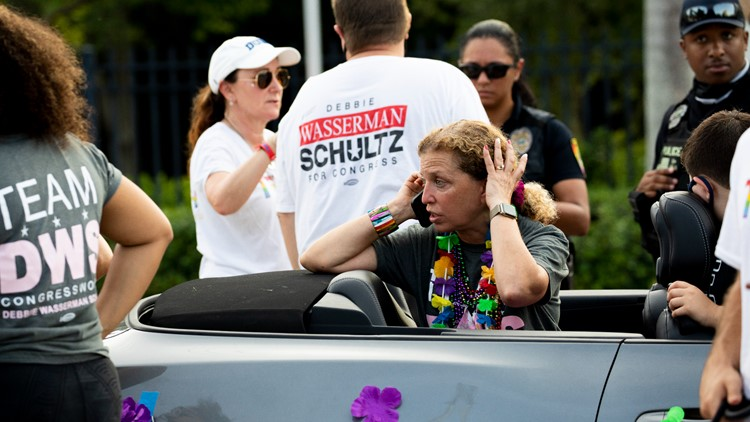 1 person dead, another hurt after being hit by truck at South Florida Pride parade