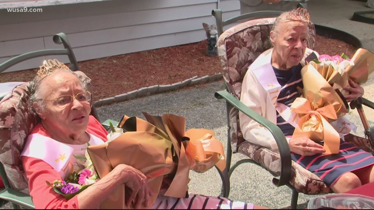 Maryland twin sisters celebrate their 100th birthday together