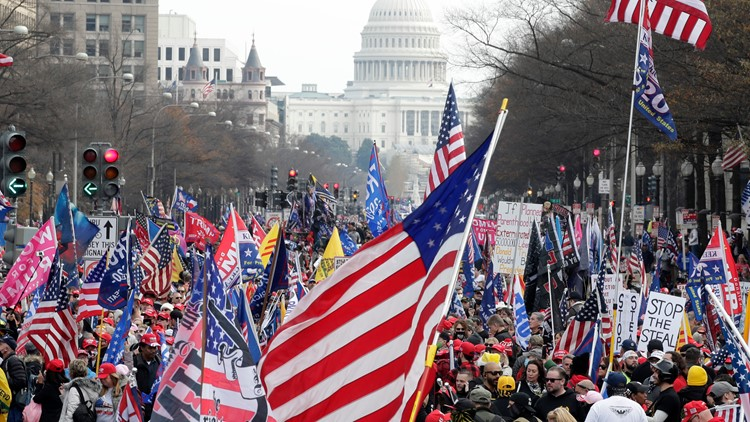 Here's everything you need to know about the 'March For Trump' rally