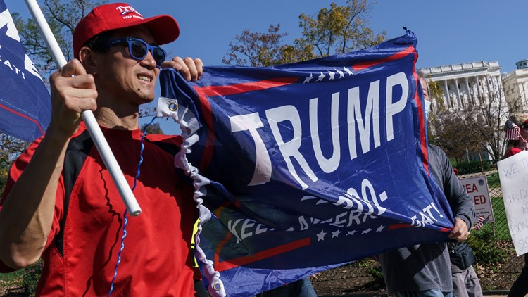 National Park Service updates pro-Trump rally permit from 50 to 10,000 participants