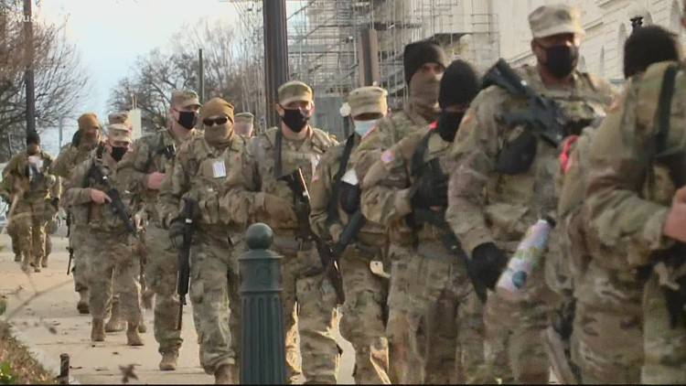 Pentagon denies it was food that hospitalized National Guard troops defending the Capitol