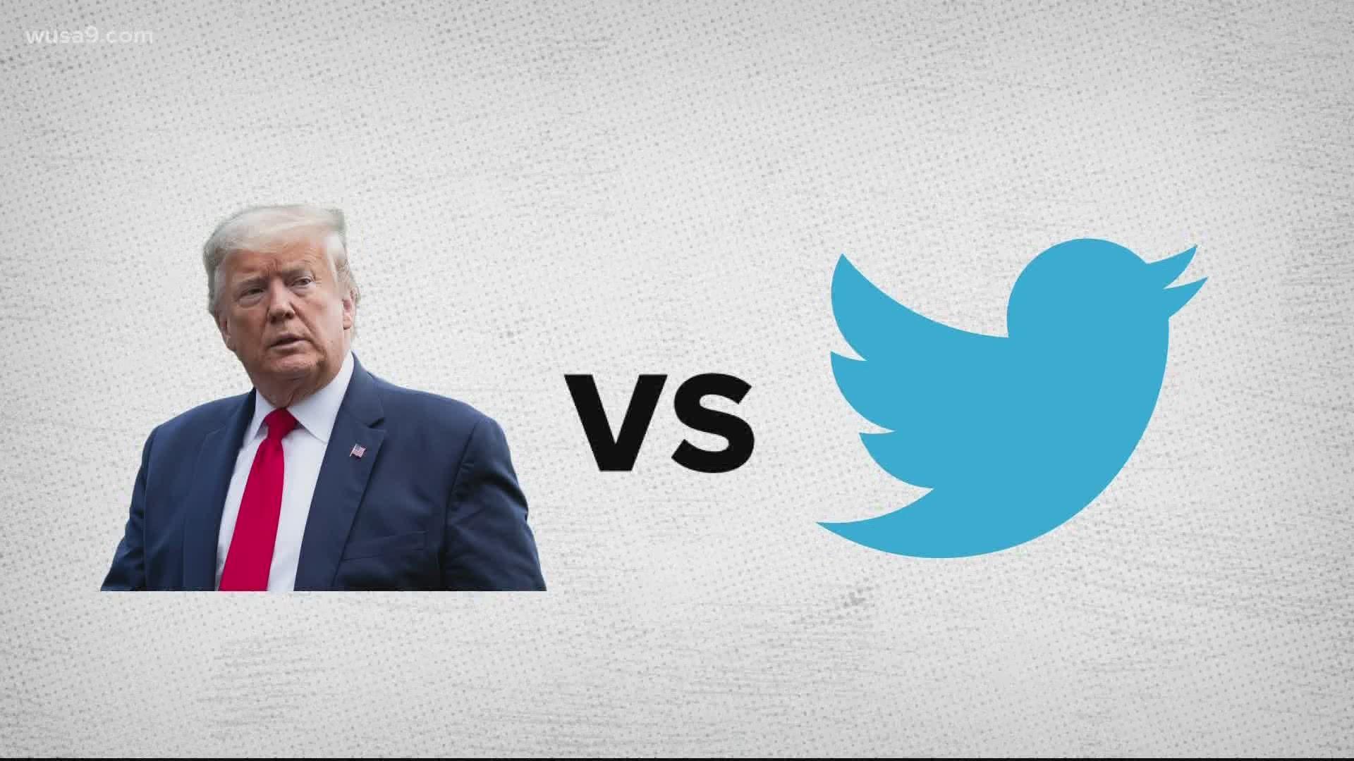 Potus Twitter Real Donald Trump Twitter Feud Reignites Debate 10tv Com