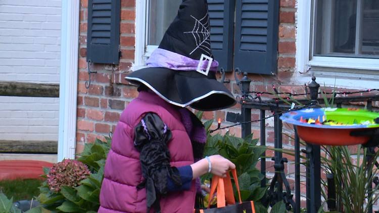 Community rallies to make Halloween possible for a Maryland girl battling cancer