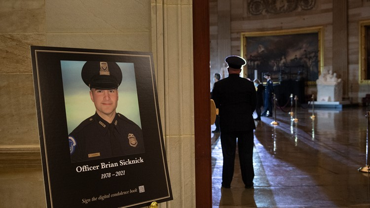 Officer Brian Sicknick died of natural causes, medical examiner says