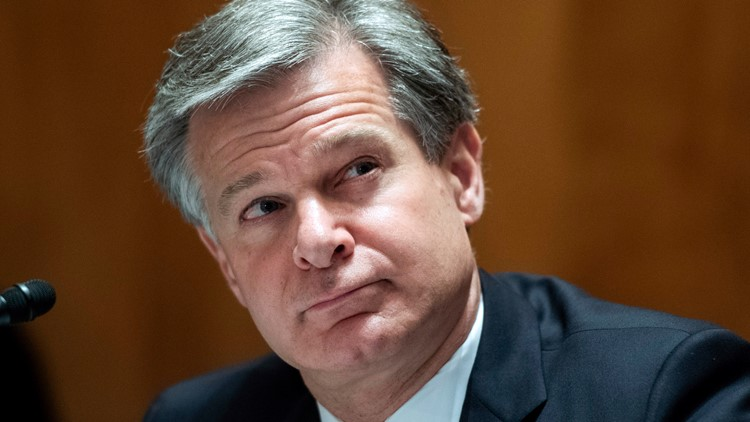 FBI chief to face questions on domestic extremism, Capitol riot Tuesday