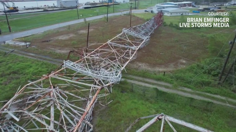An island without power: Why a massive Entergy transmission tower crumbled and all 8 sources of outside power were lost