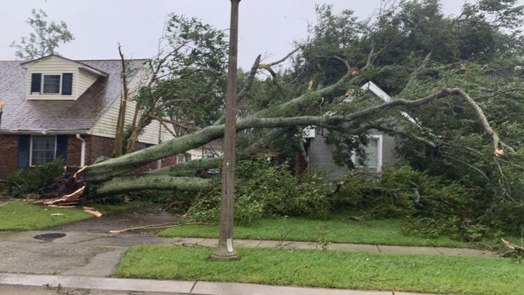 Photos and videos: Hurricane Ida's vast damage apparent in daylight