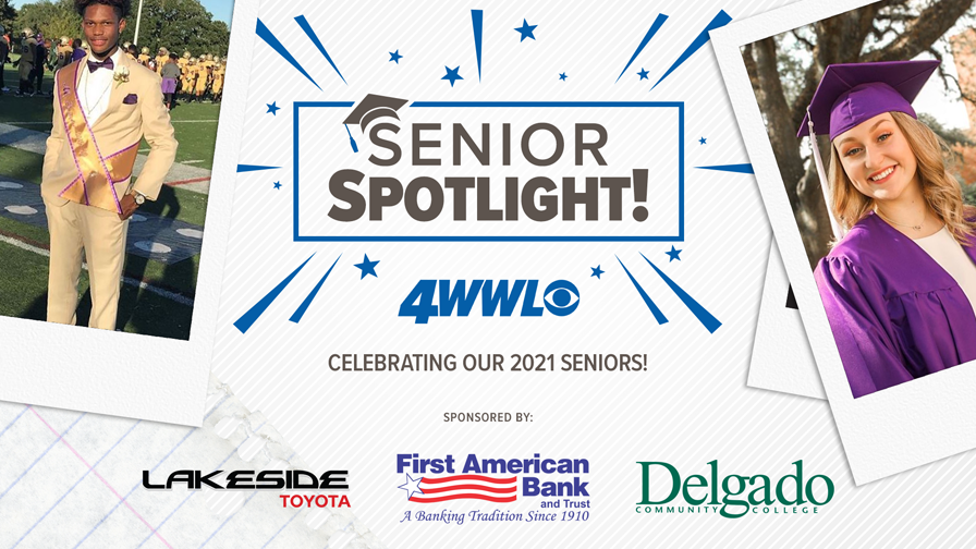 First American Bank and Trust, Lakeside Toyota, Delgado Community College and WWL-TV celebrate the Senior Class of 2021!