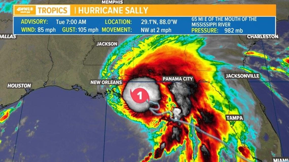 Tracking Hurricane Sally: Latest forecast track and ...Hurricane Sally Update