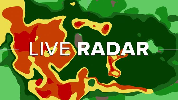 Interactive radar: Track the storm