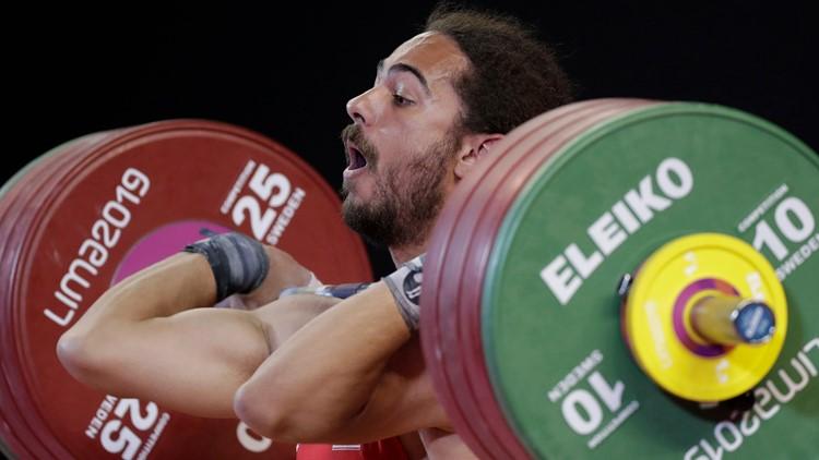 Team USA weightlifter Harrison Maurus was once a gymnast