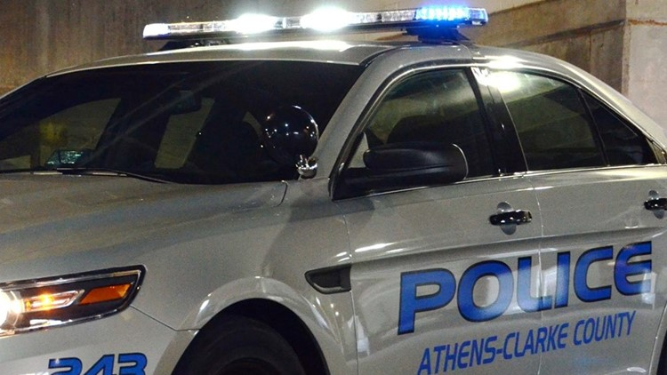 Pedestrian killed in Athens, police say