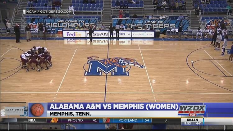 Alabama A&M falls to Memphis, 79-71 (highlights)