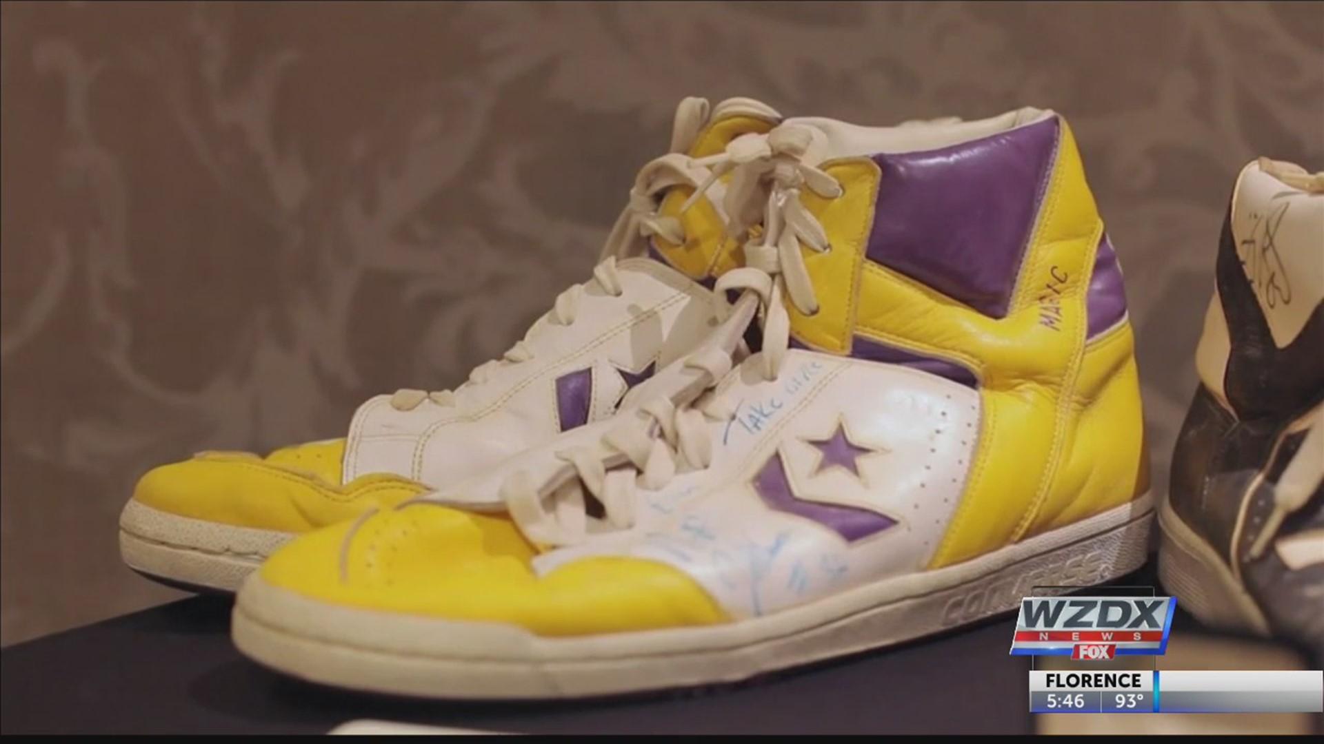 Magic/Bird shoes! | rocketcitynow