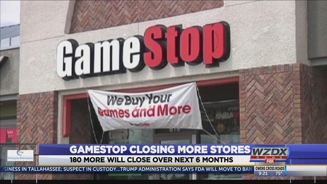GameStop closing 180 more stores | rocketcitynow.com
