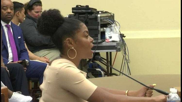 Actress testifies about mental health of black youth