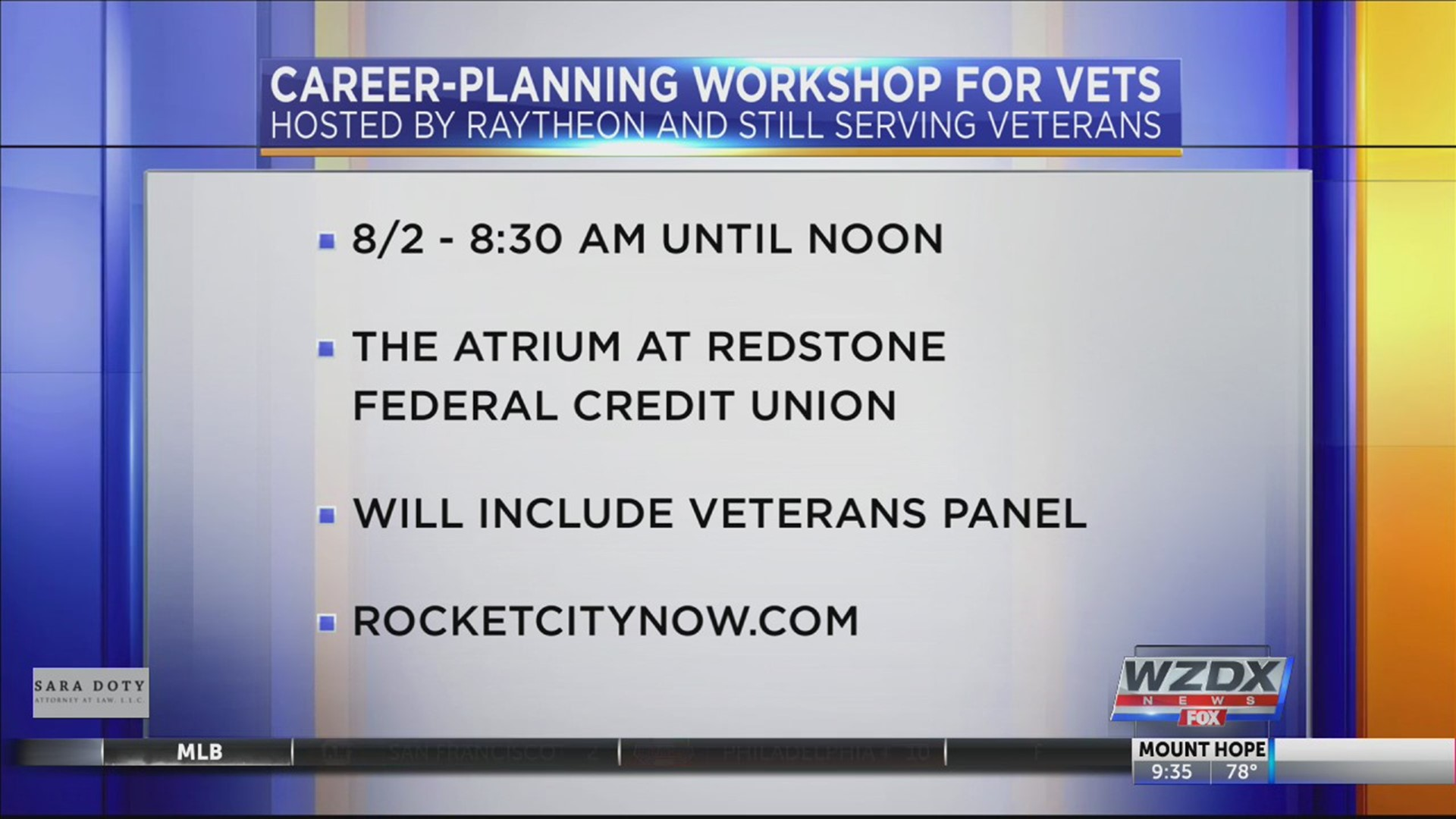 Career Planning Event For Veterans Rocketcitynow Com