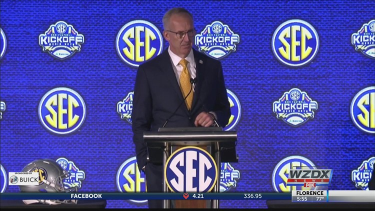 Greg Sankey says COVID-19 concerns won't lead to rescheduled SEC football games