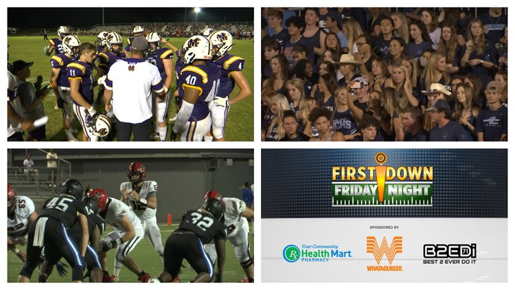 First Down Friday Night: Week One - August 27th, 2021 High School Football