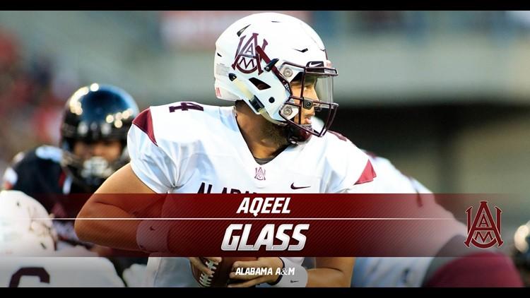 Alabama A&M's Glass headlines revised Spring 2021 Preseason All-SWAC Football Team