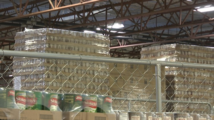 Food Bank of North Alabama gives 1 million pounds of food a month to fill growing hunger need