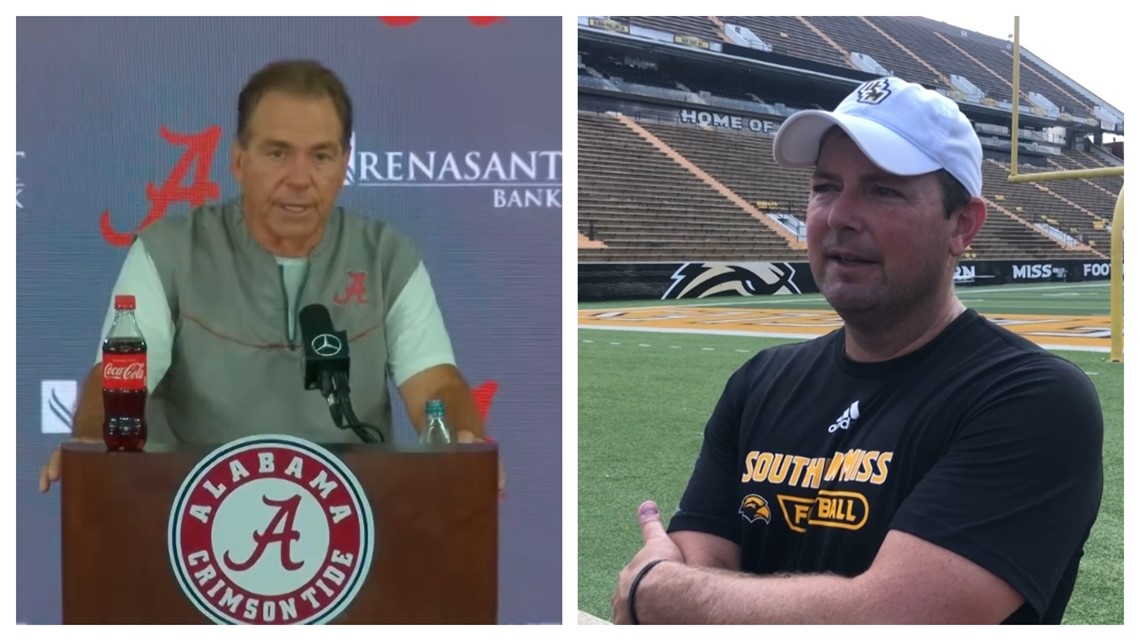 Nick Saban & Will Hall discuss Saturday's game between Bama and Southern Miss.