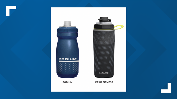 CamelBak recalls certain caps sold with Podium and Peak Fitness bottles