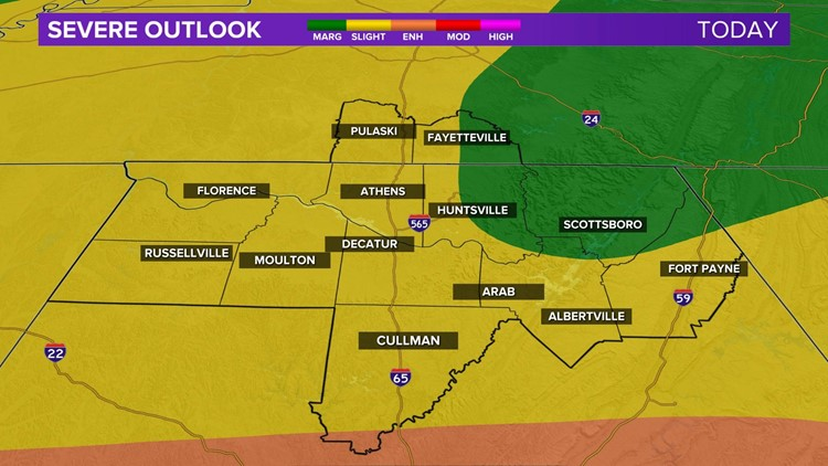 An Update on Today's Severe Weather Potential