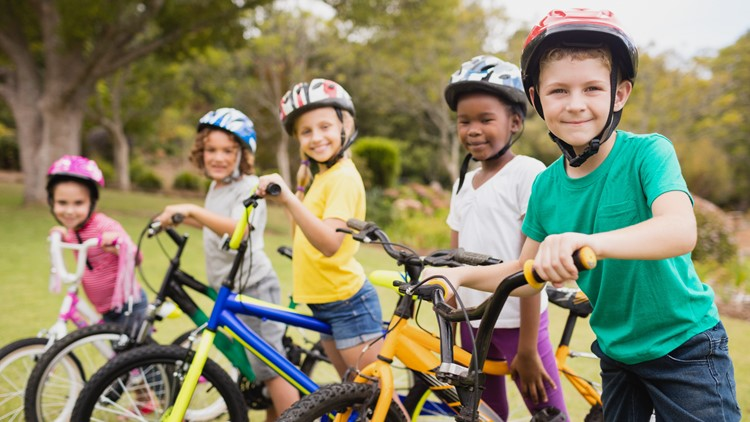 Earn a sweet treat for safe cycling!