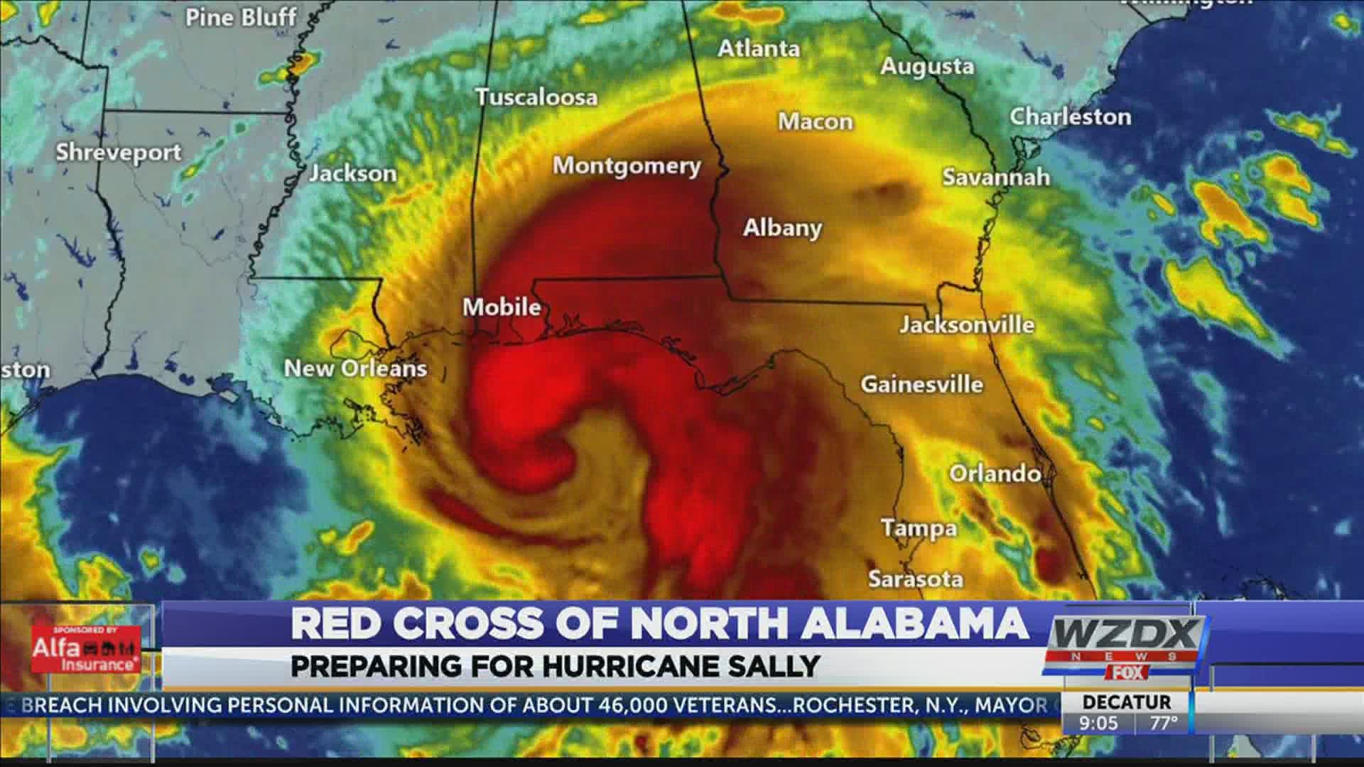 Red Cross Opens Shelters Ahead Of Hurricane Sally 10tv Com