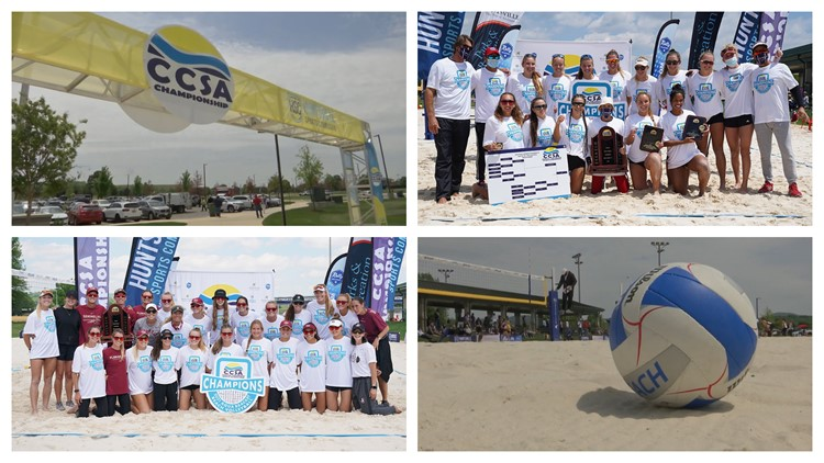 FAU & Florida State win titles at 2021 CCSA Beach Volleyball Tourney