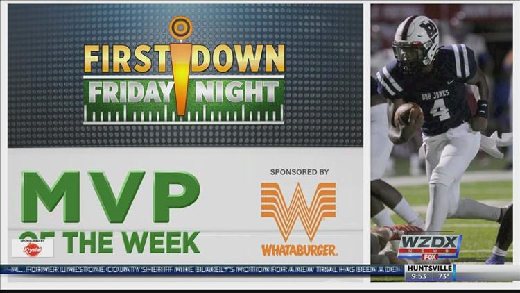 First Down Friday Night MVP of Week 3: Rayshawn Hardy