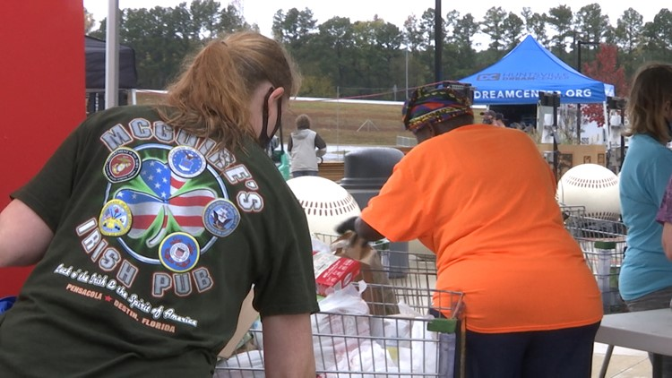 North Alabama groups try to break Guinness World Record for 'Largest Food Drive'